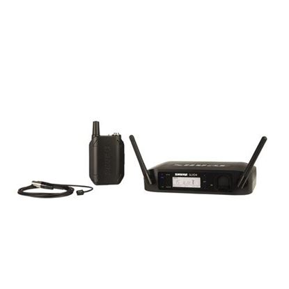 Shure GLXD14/WL93 Wireless Digital Lapel System: 2.4GHz