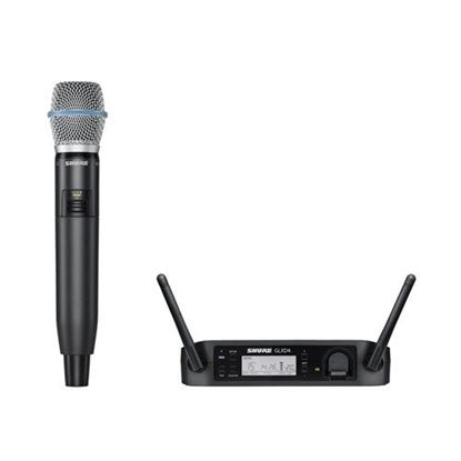 Shure GLXD24/BETA87A Wireless Digital Handheld System: 2.4GHz