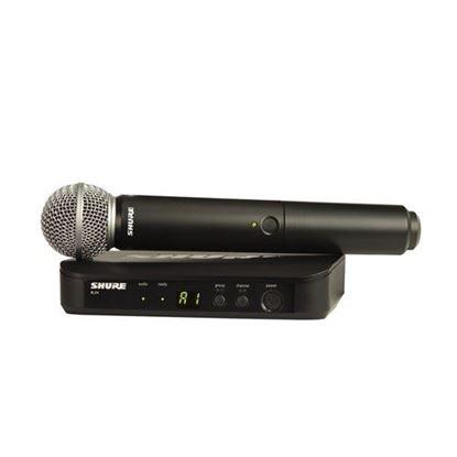 Shure BLX24/SM58 Wireless Handheld System (K14: 614-638MHz)