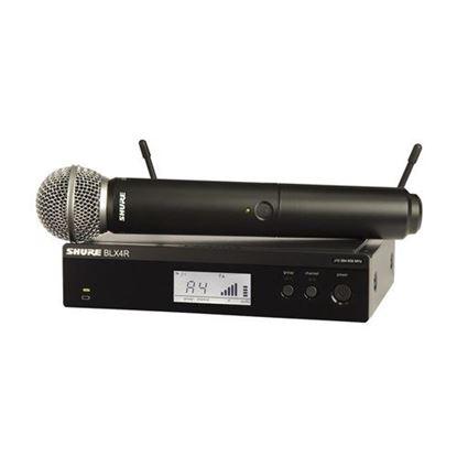 Shure BLX24R/SM58 Wireless 1/2R Handheld System (K14: 614-638MHz)