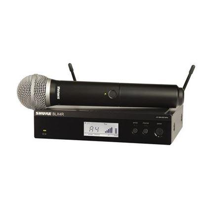 Shure BLX24R/PG58 Wireless 1/2R Handheld System (K14: 614-638MHz)