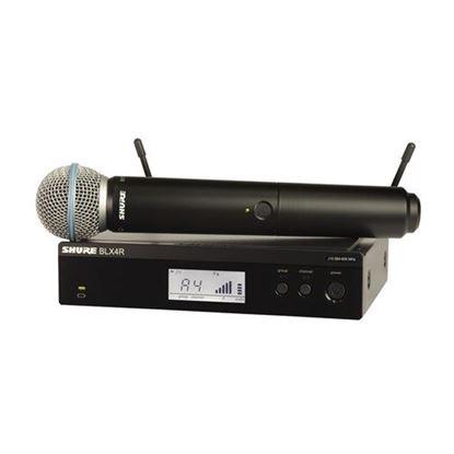 Shure BLX24R/B58 Wireless 1/2R Handheld System (K14: 614-638MHz)