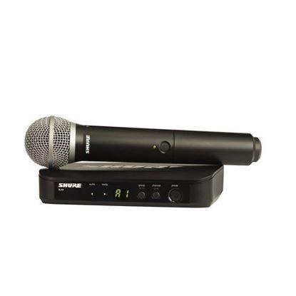 Shure BLX24/PG58 Wireless Handheld System (K14: 614-638MHz)