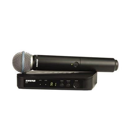 Shure BLX24/B58 Wireless Handheld System (K14: 614-638MHz)