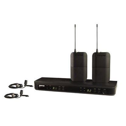 Shure BLX188/CVL Wireless Dual Lapel Mic System (K14: 614-638MHz)