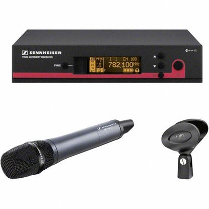 Picture of Sennheiser EW-135-G3 Handheld Cardioid Mic Wireless System (A:520-558 MHz)