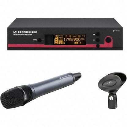 Sennheiser EW-145-G3 Handheld Super-Cardiod Mic Wireless System (G:566-608 MHz)