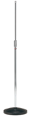 Tama MS200D Microphone Stand - Straight Round Base Chrome