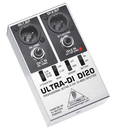 Picture of Behringer Ultra-DI DI20 DI Box