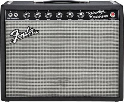 Fender '65 Princeton Reverb Combo Guitar Amp - 15 Watts/10inch Speaker