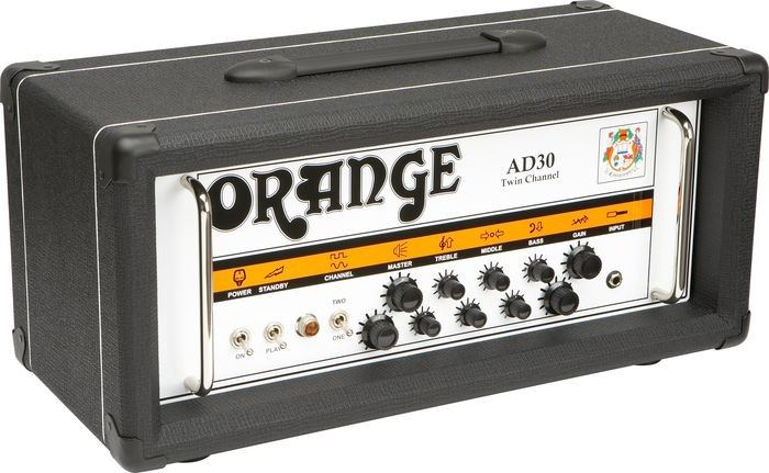 orange ad30htc guitar amp head black 30 watts perth mega music online. Black Bedroom Furniture Sets. Home Design Ideas