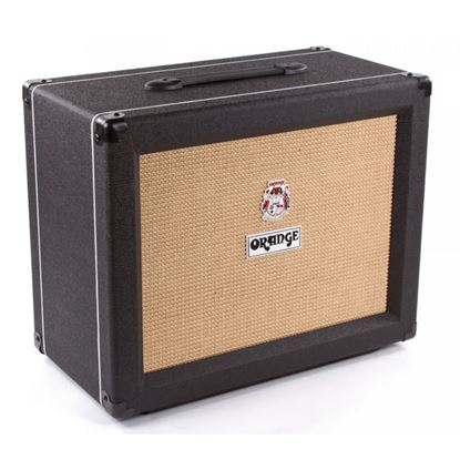 Orange PPC112 Guitar Amp Speaker Cabinet (Black) - 1x12inch Speaker