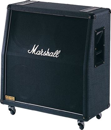 Picture of Marshall 1960A Angled Guitar Amp Speaker Cabinet - 4x12inch Speakers