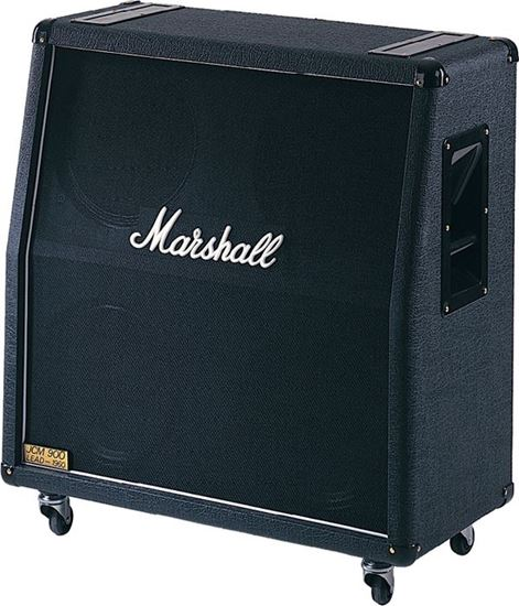 Marshall 1960A Angled Guitar Amp Speaker Cabinet - 4x12inch Speakers