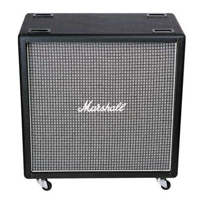Picture of Marshall 1960BX Guitar Amp Speaker Cabinet - 100 Watts/4x12inch Speakers