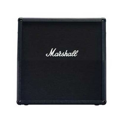 Marshall M412A Angled Guitar Amp Speaker Cabinet - 300 Watts/4x12inch Speakers