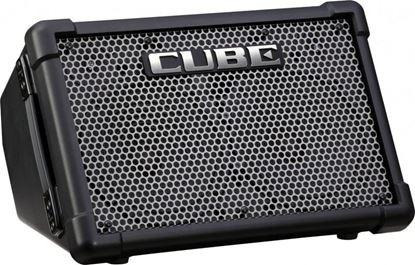 Roland CUBE Street EX Battery Powered Stereo Guitar Amplifier Combo Black (CUBESTEX)