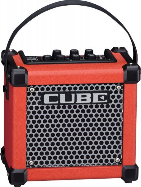 Roland MICRO CUBE GX Guitar Amp Combo, Red (MCUBEGX)