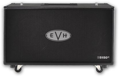 EVH 5150 III Guitar Amp Speaker Cabinet (Black) - 2x12inch Speakers