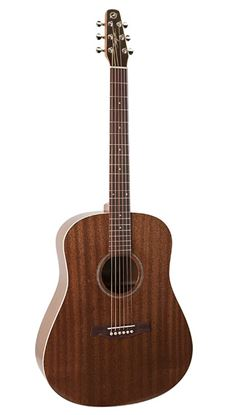 Seagull S6 Mahogany Deluxe Acoustic Guitar - Semi Gloss with Pickup