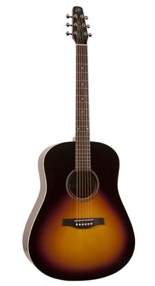 Seagull S6 Original Series Acoustic Guitar - Sunburst Gloss Top with Pickup