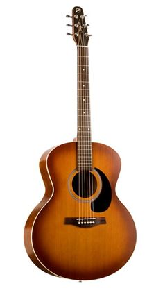 Picture of Seagull Entourage Rustic Mini Jumbo Acoustic Guitar with QI Pickup