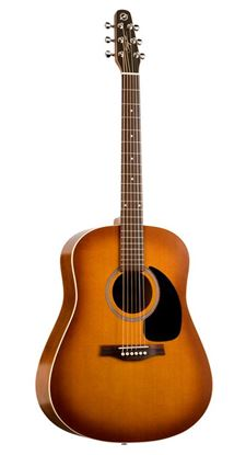 Picture of Seagull Entourage Rustic Acoustic Guitar with QI Pickup