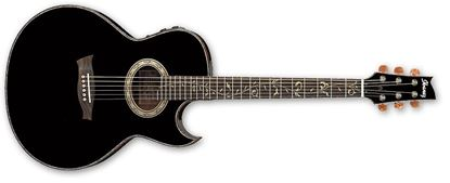 IBANEZ EP10 BP Steve Vai Signature Acoustic Guitar Black Pearl High Gloss