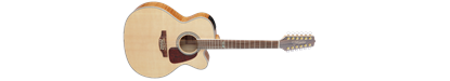 Takamine GJ72CE 12-string Guitar with Pickup - Jumbo Natural