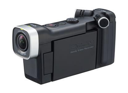 Zoom Q4n Handy Video Recorder (Black)