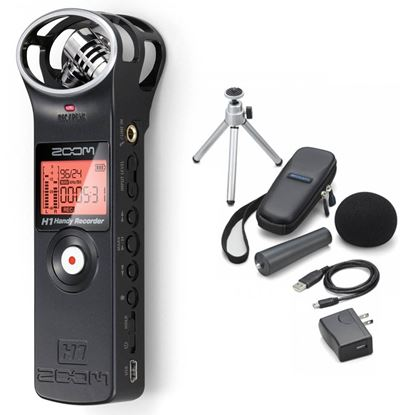 Zoom H1 Handy Recorder + Accessory Pack