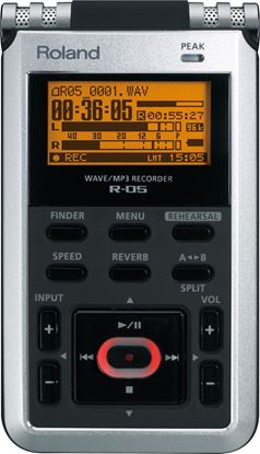 Picture of Roland R-05 WAVE/MP3 Recorder (R05)