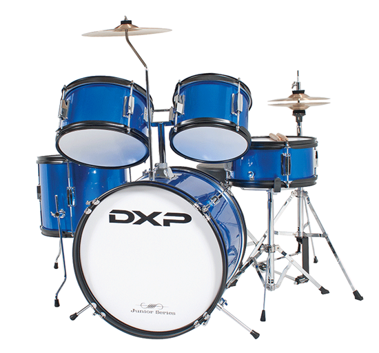 DXP Junior Series 5-piece Drum Kit - Metallic Blue (TXJ5MBL)