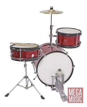 DXP Junior Series 3-piece Drum Kit - Wine Red (TXJ3WR)