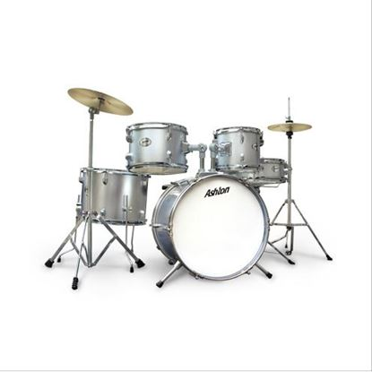 Ashton JoeyDrums Drum Kit - Silver