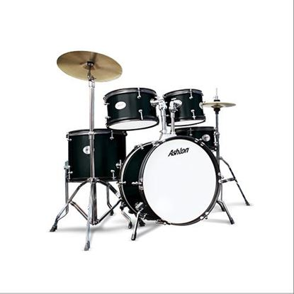 Picture of Ashton JoeyDrums Drum Kit - Black