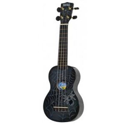 Mahalo Art Series Ukulele - Spiders