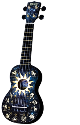 Picture of Mahalo Art Series Ukulele - Constellations