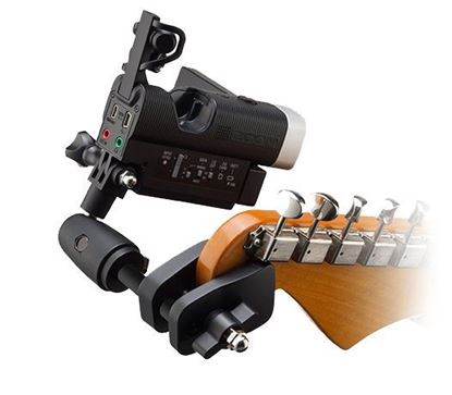 Zoom GHM-1 Guitar Camera Mount for Q4n and Q8
