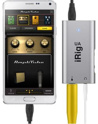 IK Multimedia iRig UA - Guitar Effect and Android Interface