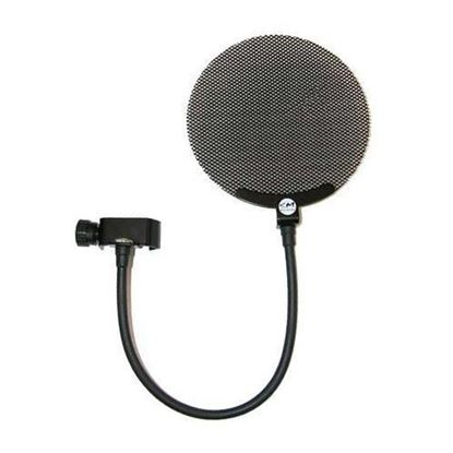 SM Pro Audio PS-1 Pop Shield (Black Metal Mesh)