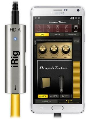 IK Multimedia iRig HD-A - Digital Guitar Interface for Android