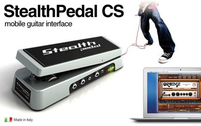 IK Multimedia StealthPedalCS  Mobile Guitar Interface with AmpliTube 2