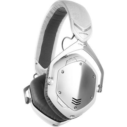 V-Moda Crossfade Wireless Headphones (White Silver)