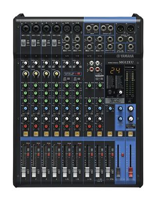 Yamaha MG12XU 12-Channel Mixing Console (SPX Effects & USB)
