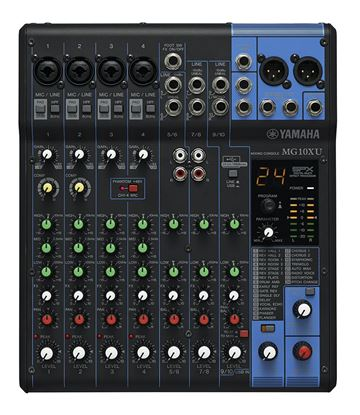 Yamaha MG10XU 10-Channel Mixing Console (SPX Effects & USB)