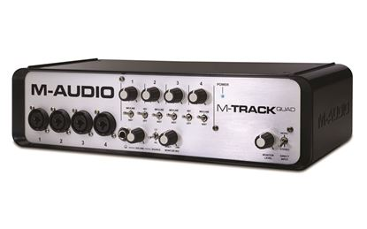 Picture of M-Audio M-Track Quad 4 Channel USB Interface