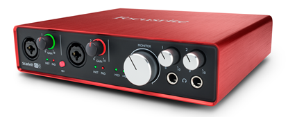 Focusrite Scarlett 6i6 2nd Gen Audio Interface