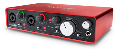 Focusrite Scarlett 2i4 2nd Gen Audio Interface