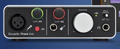 Picture of Focusrite iTrack Solo Audio Interface